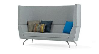 Cwtch 2 Seater High Back Sofa